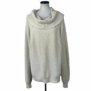 Free People Knit Cowl Sweater #86